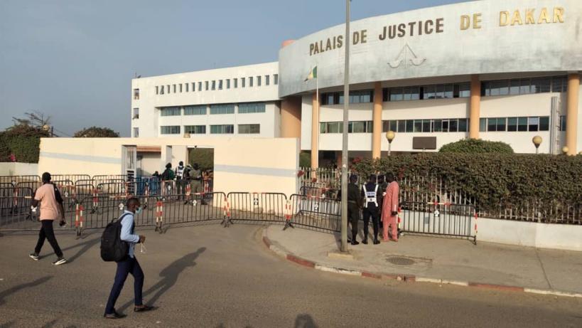 Audition de Ousmane Sonko: le Tribunal de Dakar transformé en fortesse bien gardée