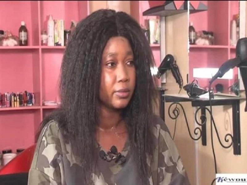 """Ndeye Khady Ndiaye, le patronne de """"Sweet Beauty"""", son mari et leur nourrisson dans le bureau du juge d'instruction"""