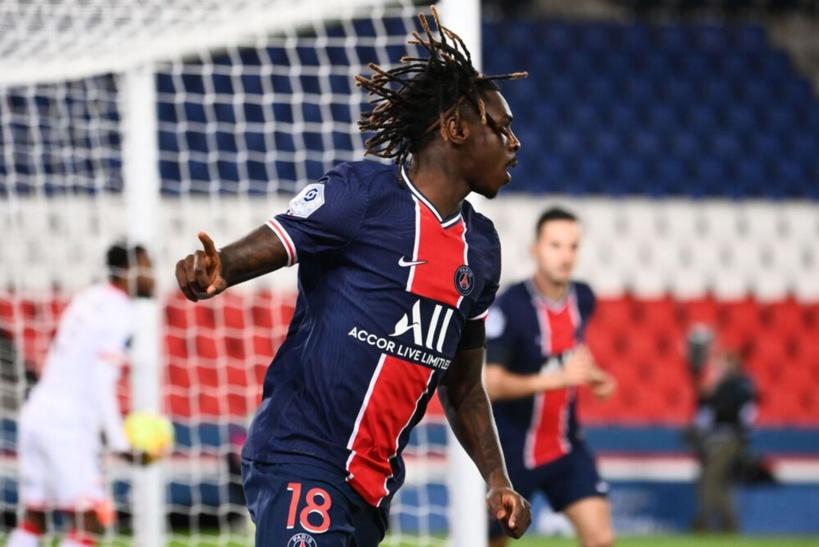PSG: Moise Kean testé positif à la Covid_19, manquera le match contre Bordeaux