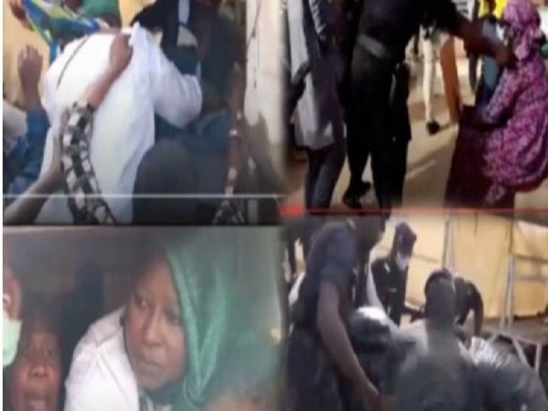 Dernière minute : les 17 femmes, militantes de Pastef, libérées