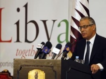 Ali Zeidan, le Pemier ministre de la Libye, ici en mai 2011 lors d'une conférence sur la Libye à Doha.