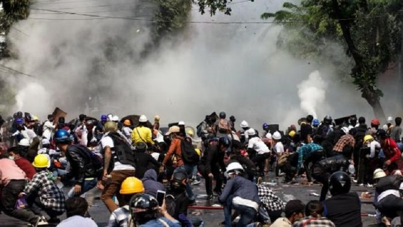 En Birmanie, au moins 38 morts lors de la pire journée de répression depuis le coup d'Etat