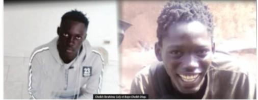 Cheikh Ibrahima Coly tué à Bignona et Baye Cheikh Diop tombé à Yeumbeul (photo le quotidien Libération)