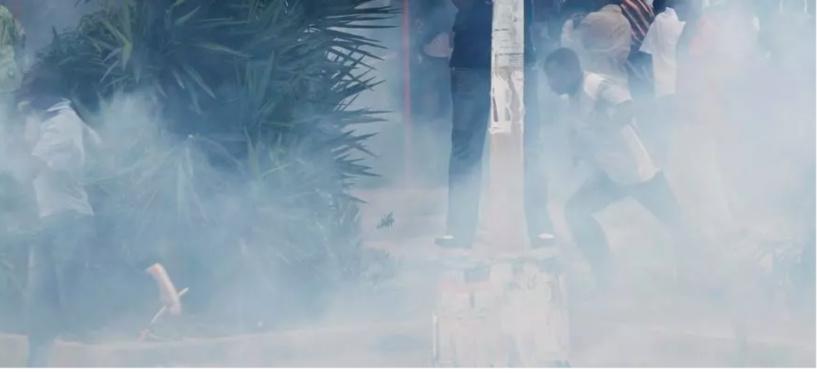 Le Tribunal de grande instance de Diourbel pris d'assaut par des manifestants