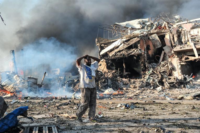 Somalie: plus de dix personnes tués par l'explosion d'une voiture piégée
