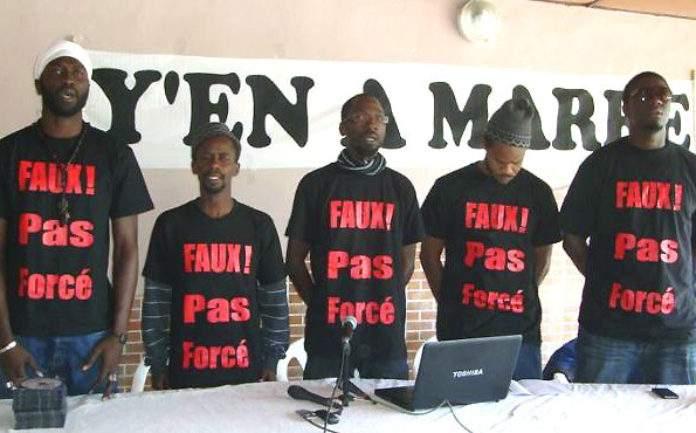 L'Etat du Sénégal veut mettre fin aux financements de Y en a marre