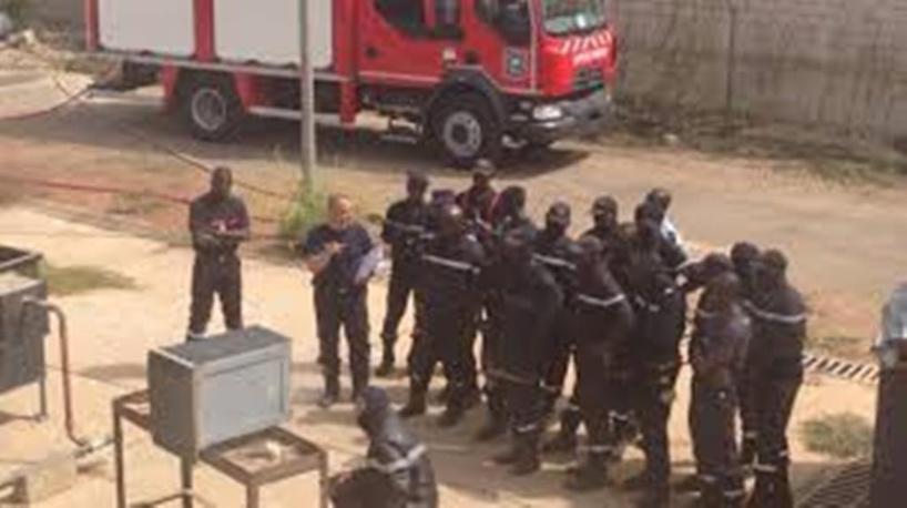Incendie déclaré dans les alentours du Palais de Popenguine : les précisions du Lieutenant Ibra Houdiamar