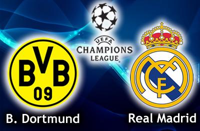 Dortmund vs Real Madrid: les compos probables