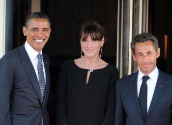 Sarkozy a offert pour plus de 41.000 dollars de cadeaux à Obama
