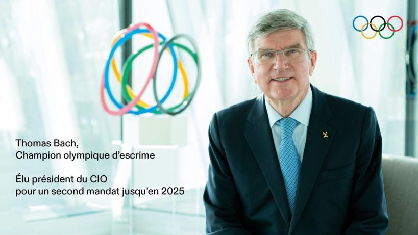 Thomax Bach réélu président du Comité International Olympique (CIO) pour un nouveau mandat de 4 ans