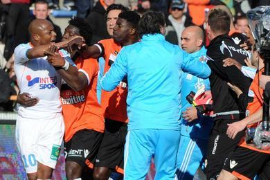 Altercation entre Marseillais et Lorientais après le match