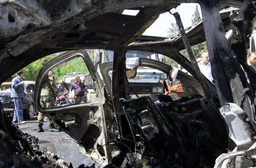 Syrie: forte explosion dans le centre de Damas, des victimes