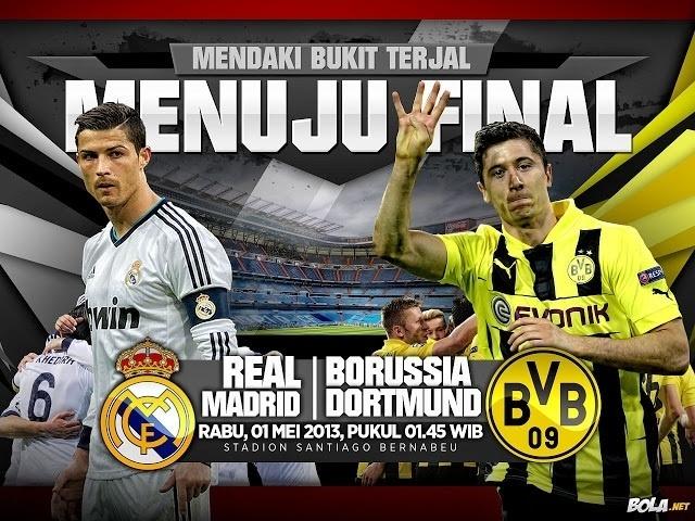 1/2 finale retour Real Madrid vs Dortmund: les équipes probables