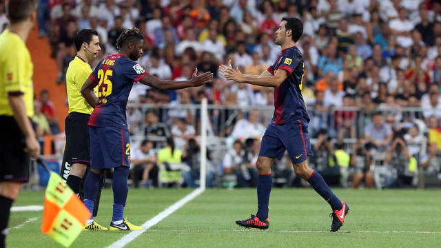 Barça vs Bayern: Busquets et Abidal non, Song oui