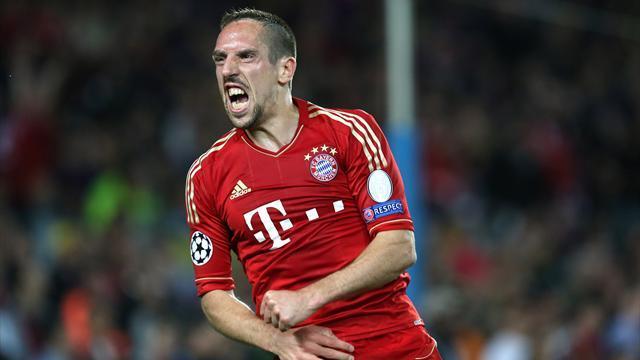 Franck Ribéry : arrière gauche, meneur et ailier du Bayern