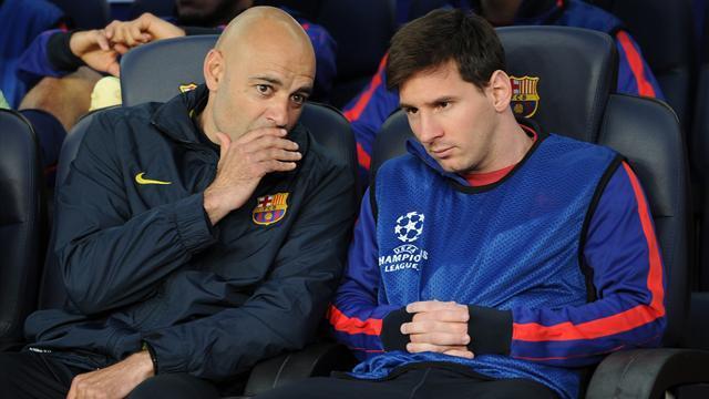Barça-Bayern (0-3) : Lionel Messi toujours blessé, le Barça trop diminué