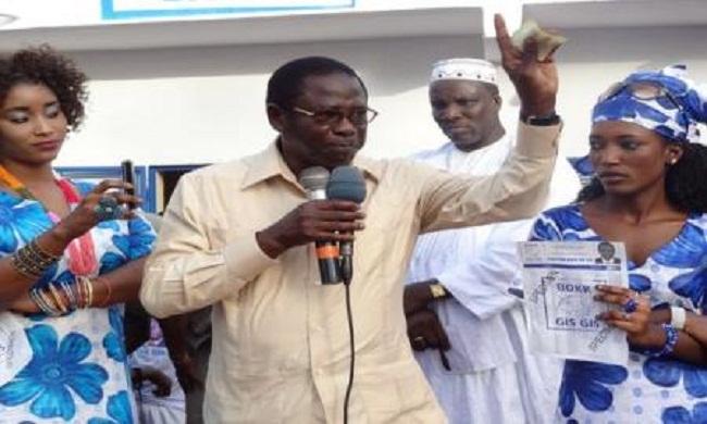 Locales de 2014: Pape Diop veut reprendre la  mairie de Dakar
