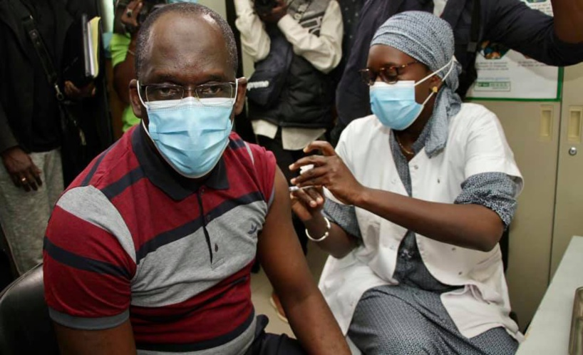 Vaccination Covid-19 : Abdoulaye Diouf Sarr a pris sa seconde dose