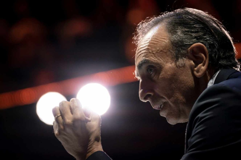 La chaîne CNews sanctionnée d'une amende de 200 000 euros pour des propos d'Eric Zemmour contre les migrants