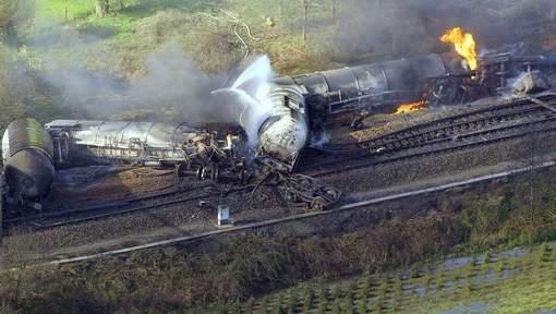 Belgique : deux morts et 14 blessés dans l'accident d'un train de produits chimiques