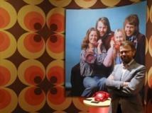 Bjorn Ulvaeus, l'un des deux « B » d'ABBA, lundi 6 mai 2013, à l'inauguration du musée dédié au groupe dont il a été membre jusqu'au début des années 1980.