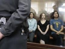 Le procès contre les Pussy Riot, ici le 17 août à Moscou, a été l'un des plus emblématiques de cette première année du troisième mandat de Vladimir Poutine.