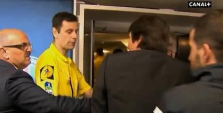 L'incident entre Monsieur Castro et Leonardo s'est produit après le match du PSG contre Valenciennes. (D.R)