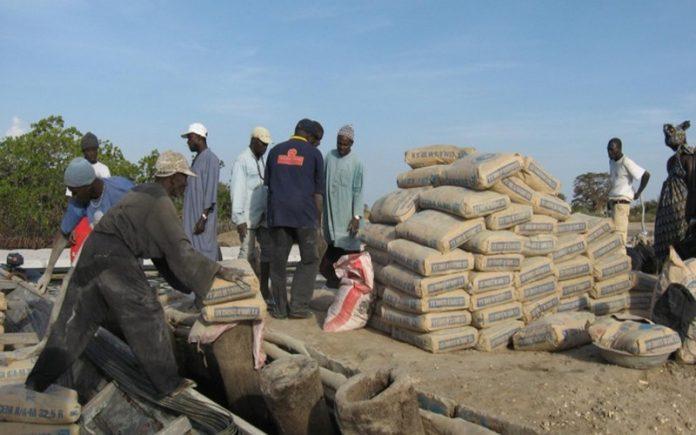 Hausse prix du Ciment au Sénégal: le Gouvernement et les revendeurs râlent