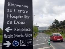 Le malade a été hospitalisé à Douai. Son état est jugé préoccupant.