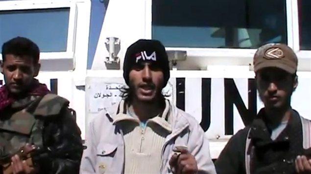 Libération des quatre Casques bleus philippins enlevés par les rebelles syriens sur le Golan