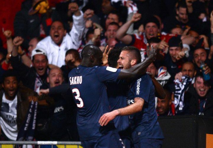 France PSG champion de la Ligue 1: Sakho fait parler le wolof à David Beckham