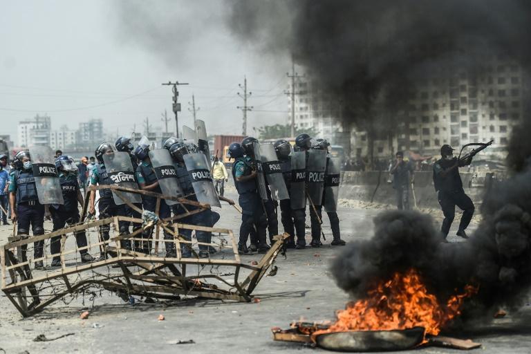 Bangladesh: une dizaine de blessés lors de nouvelles manifestations
