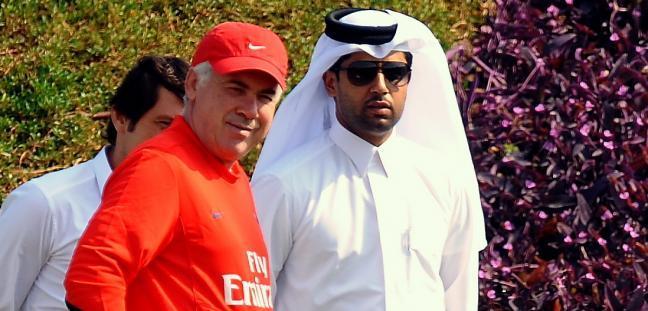 Ancelotti-Al-Khelaïfi, rendez-vous reporté