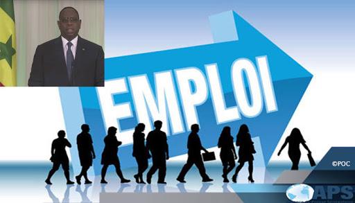 Emplois jeunes: Macky annonce 450 milliards, un Conseil présidentiel le 22 avril et l'instauration d'un guichet Pôle Emploi dans chaque département
