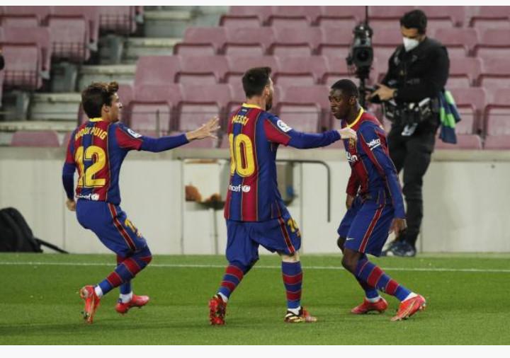 Liga : le Barça arrache la victoire grâce à Dembélé !