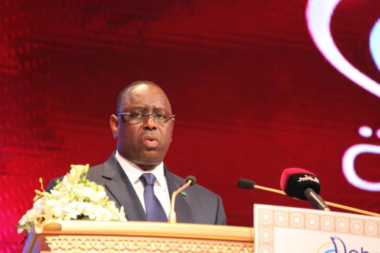 """Macky Sall au Forum de Doha: """"l'Afrique, c'est une nouvelle approche dans la mobilisation des capitaux"""""""