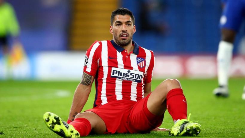 Luis Suárez souffre d'une blessure musculaire à la jambe gauche