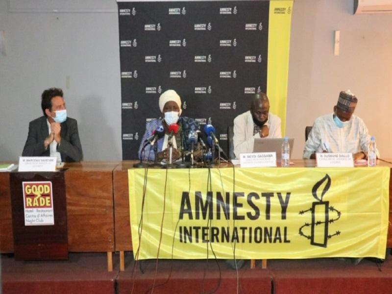 Rapport 2020 de Amnesty Sénégal : Seydi Gassama plaide pour la cause des homosexuels