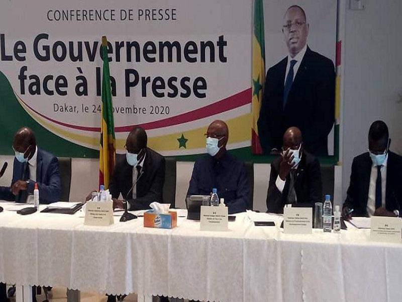 Reprise ce jeudi de la conférence de presse, « Le gouvernement face à la presse »