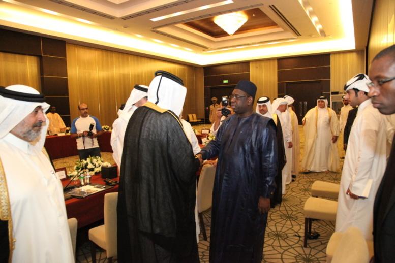 Visite officielle de Macky au Qatar: Le Sénégal fait son marketing économique à Doha