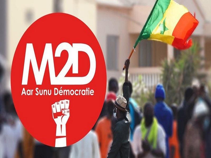 Emeutes sur l'affaire Sonko-Adji Sarr: le M2D publiera son propre mémorandum dans les prochains jours