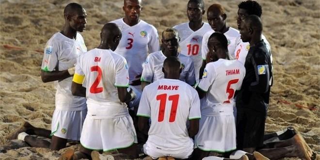 CAN Beach Soccer : L'équipe nationale réussit sa seconde sortie et lamine le Ghana par 11 buts à 3