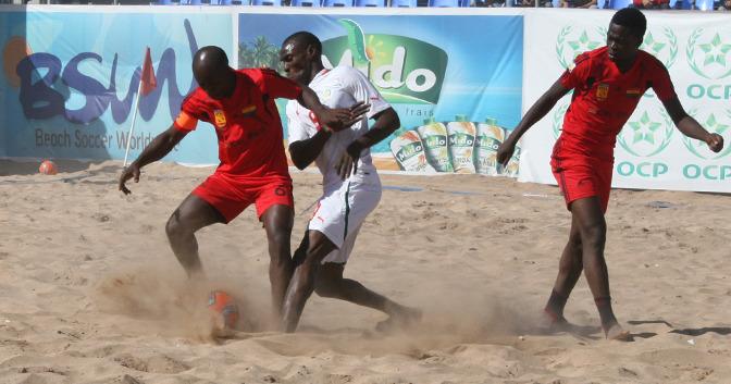 CAN Beach Soccer: les résultats de la deuxième journée