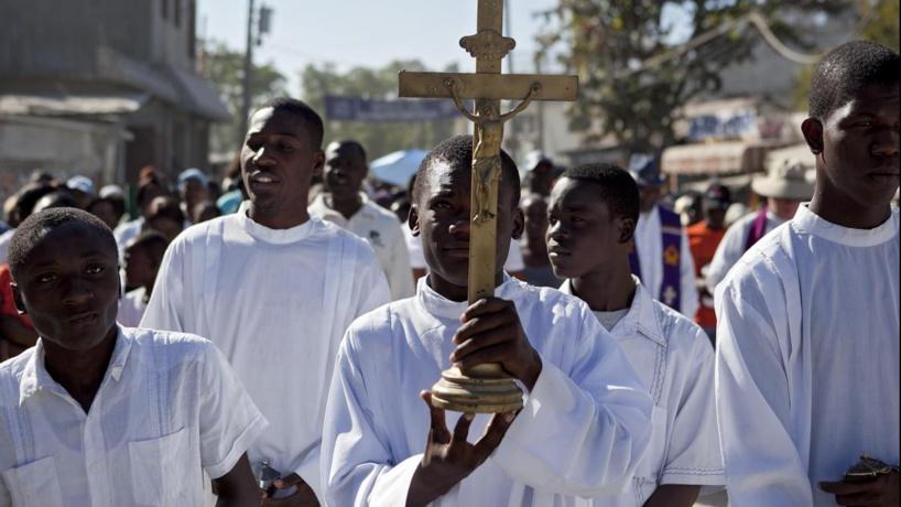 Sept religieux catholiques, dont deux Français, enlevés à Haïti