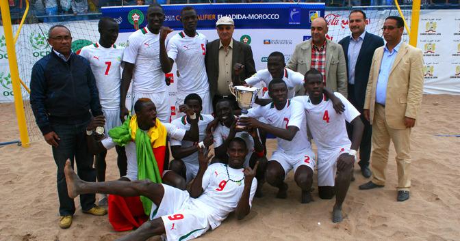CAN Beach Soccer-Finale : Les « Lions » fusillent la Côte d'Ivoire (4-1), remportent leur 3ème titre et donnent rendez-vous à Tahiti