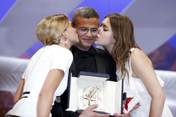 """Cannes 2013 : La Palme d'or pour """"La vie d'Adèle"""" d'Abdellatif Kechiche"""