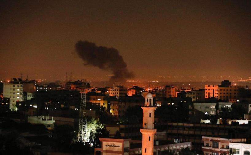 Gaza: frappes aériennes sur le territoire palestinien en riposte à un tir de roquette