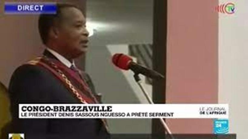 Congo : Denis Sassou Nguesso a prêté serment pour son 4ème mandat