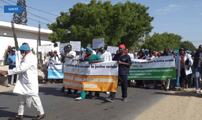 Grève les 28 et 29 avril: les techniciens supérieurs en santé exigent leur reclassement dans la Fonction publique
