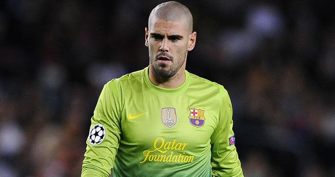 FC Barcelone : Victor Valdes quittera le club cet été ou l'année prochaine